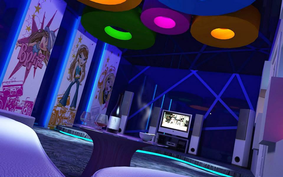 mau thiet ke phong karaoke