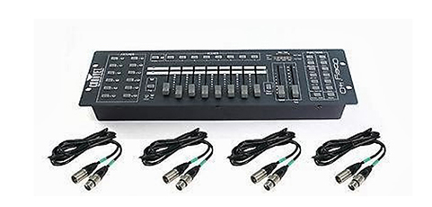 DMX lighting console TQ 512