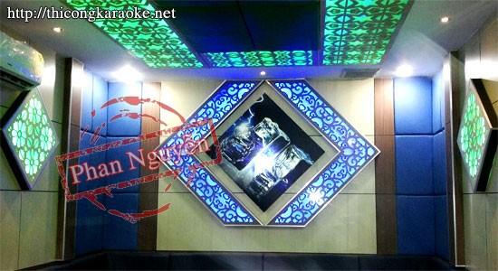 Thi công phòng Karaoke Zen Club (Long Thành)
