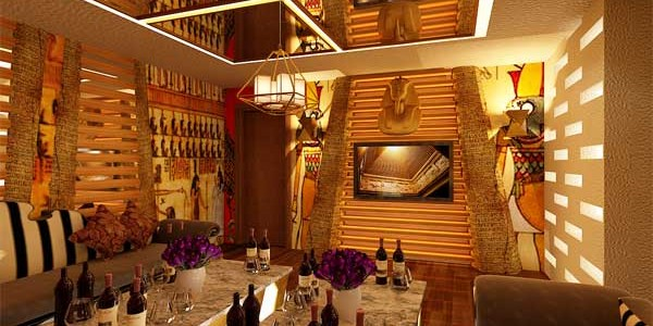 Karaoke room design styles Egypt