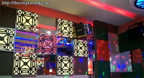 Thi công phòng karaoke Đông Tây (Đức Trọng – Đà Lạt)
