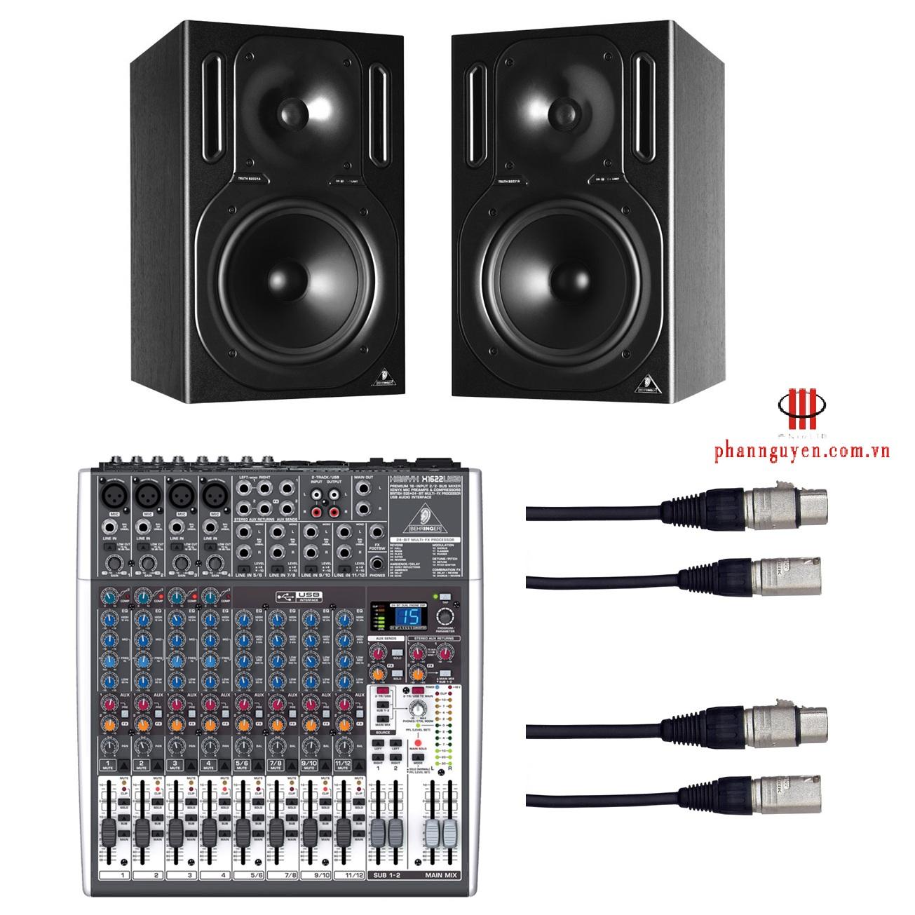 Mixer Behringer XENYX-X1622USB-2