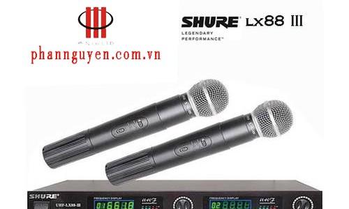 Micro không dây Shure LX88 III