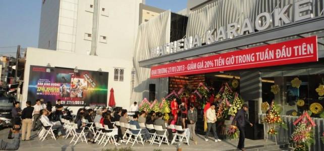 Thi công phòng karaoke Athene – Đà Lạt
