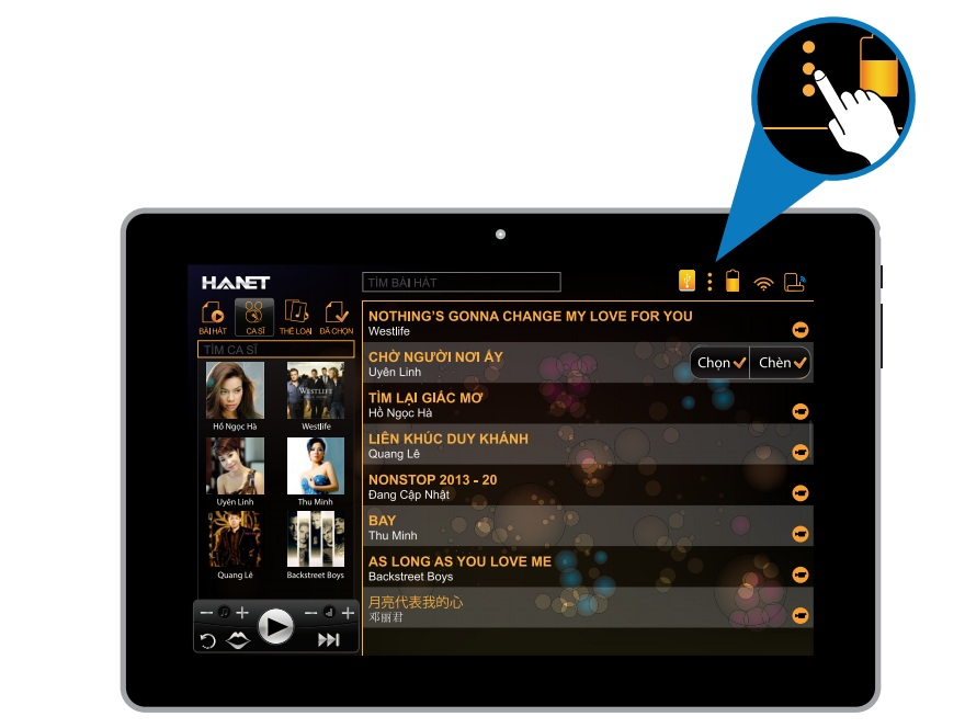 hanet remote tablet