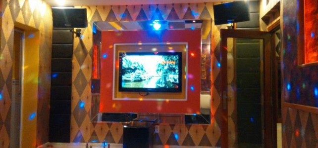 Construction karaoke room Hoang Yen
