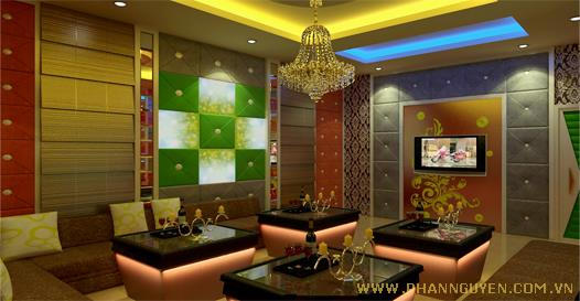 Construction karaoke room Yes Nguyen Dinh Chieu