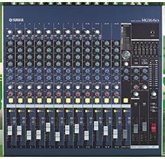 Mixer Yamaha MG 16/6CX