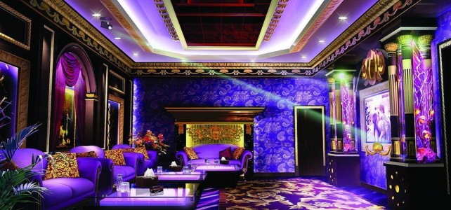 Design style karaoke rooms luxurious, refined