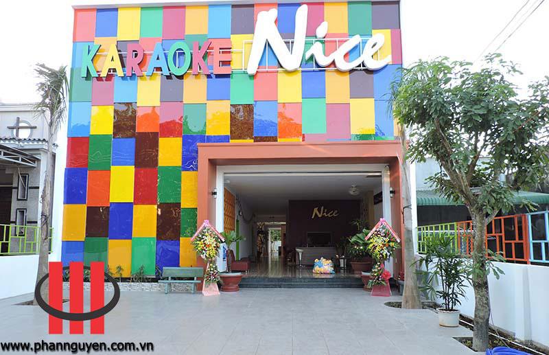 thi công phòng karaoke Nice Bình Thuận