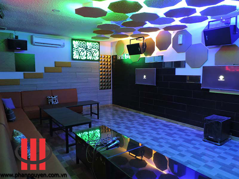 Thi c ng ph ng karaoke nice b nh thu n phan nguy n audio for Karaoke room design ideas