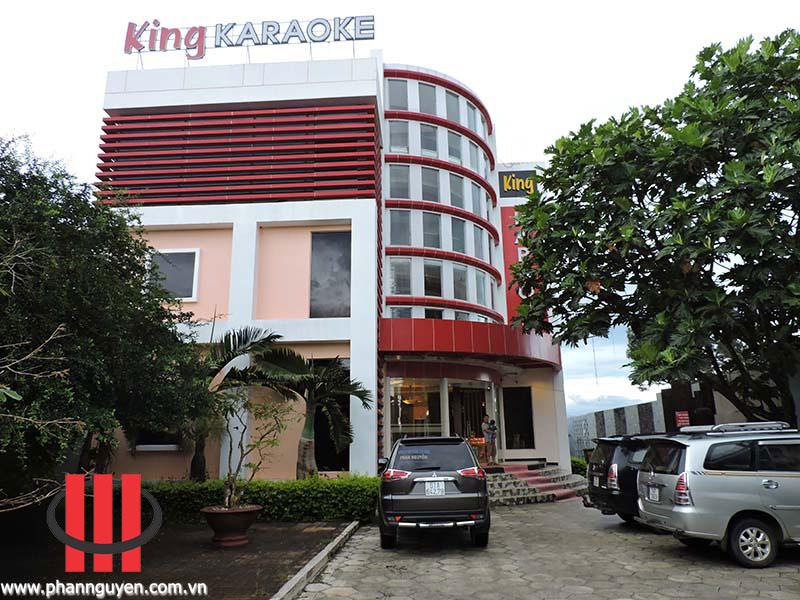 thi công phong karaoke King Bảo Lộc