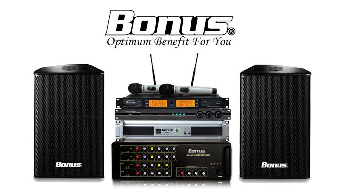 thiết bị karaoke chuyên nghiệp Bonus Audio