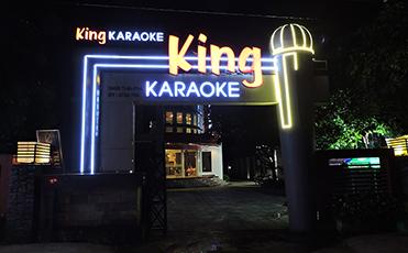 Thi công phòng karaoke King Bảo Lộc