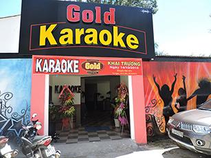Thi công phòng karaoke Gold – Bảo Lộc