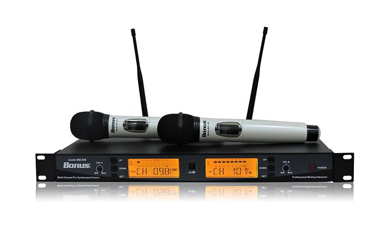 Micro không dây sóng VHF