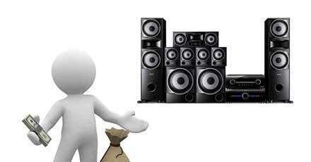 Tránh lãng phí tiền bạc khi mua sắm thiết bị âm thanh.