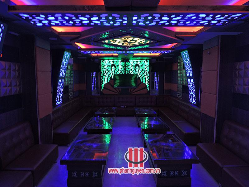 Công trình thi công phòng karaoke Ngọc Huy Q.12