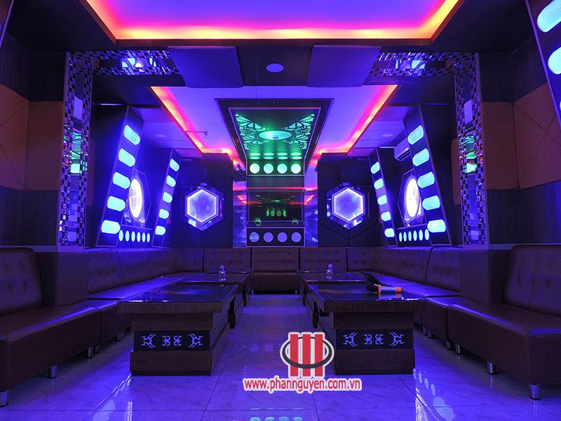 Thi công phòng karaoke Ngọc Huy