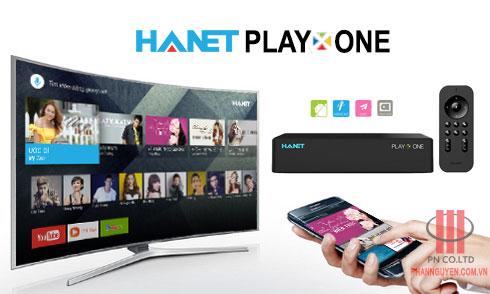 Hanet PlayX One - Thiết bị giairi trí đa phương tiện.