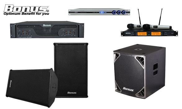 Hệ thống âm thanh karaoke Bonus AUdio