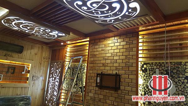 Thi công phòng karaoke Hoàng Tân Hòa