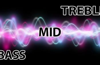 Tìm hiểu về dải tần số âm thanh BASS, MID, TREBLE.