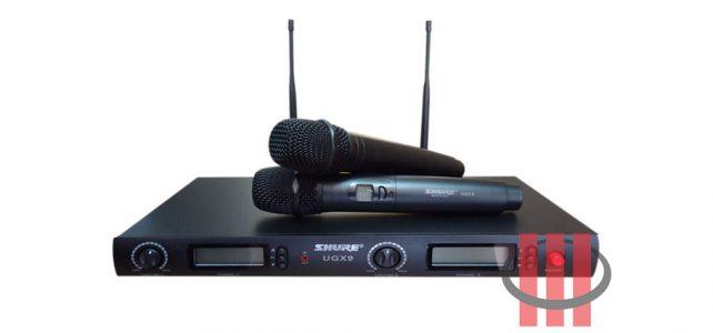 Karaoke Microphone Shure UGX9