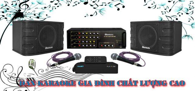 Dàn karaoke gia đình cao cấp BA-01GD