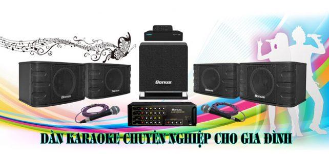 Dàn karaoke gia đình đẳng cấp BA-02GD
