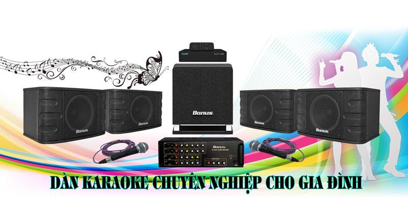 Dàn karaoke gia đình BA-02GD