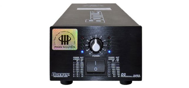 Power Amplifier Bonus D2
