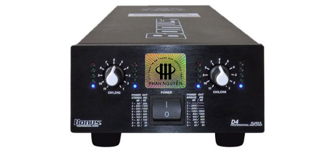 Power Amplifier Bonus D4