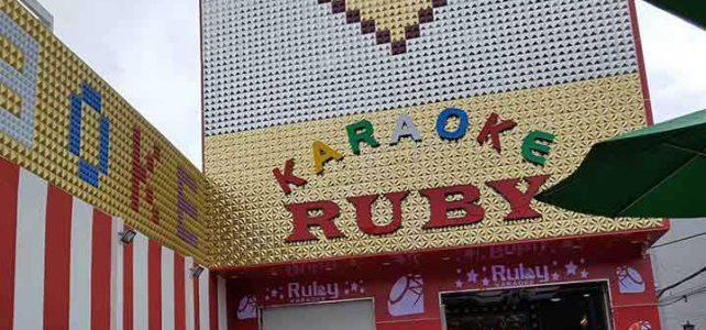 Construction karaoke room RUBY Binh Tan