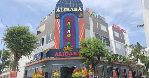 Công trình thiết kế thi công phòng karaoke Alibaba Bình Tân