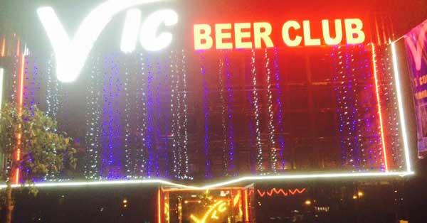 Công trình thi công âm thanh VIC Beer Club Long Thành