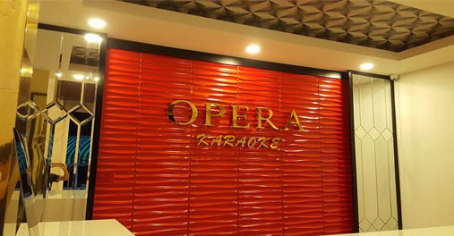 Construction projects karaoke room audio system OPERA Can Tho