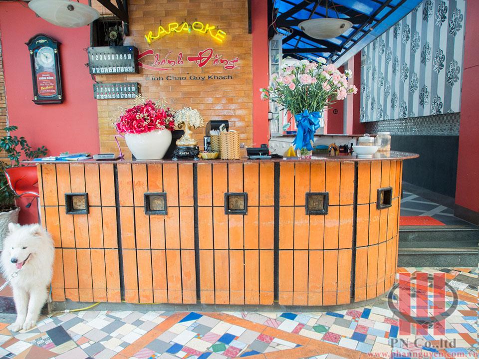 Công trình thi công phòng karaoke Khánh Đăng Bảo Lộc