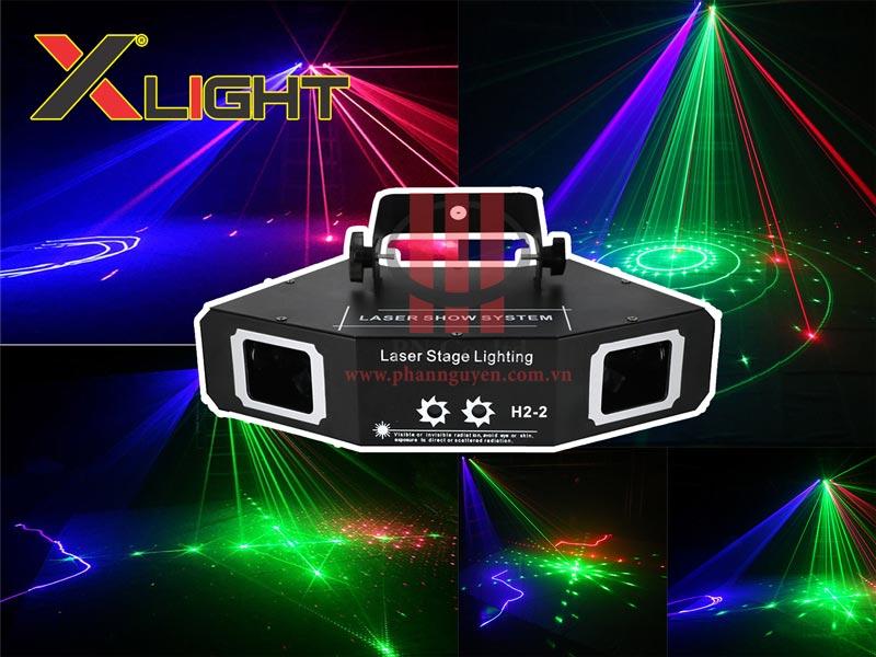 Đèn laser 2 mắt 2 cửa XLIGHT XL-H22