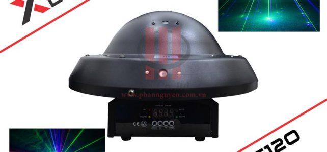 Đèn laser trung tâm dĩa bay cho karaoke XLight XL-C12O