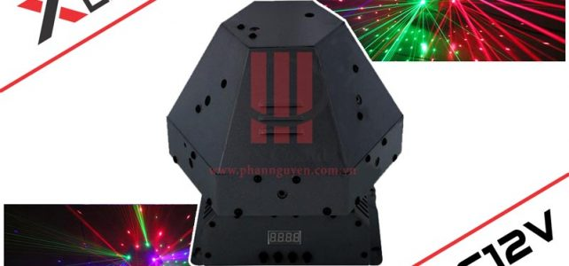 Đèn laser karaoke trung tâm lục giác XLight XL-C12V