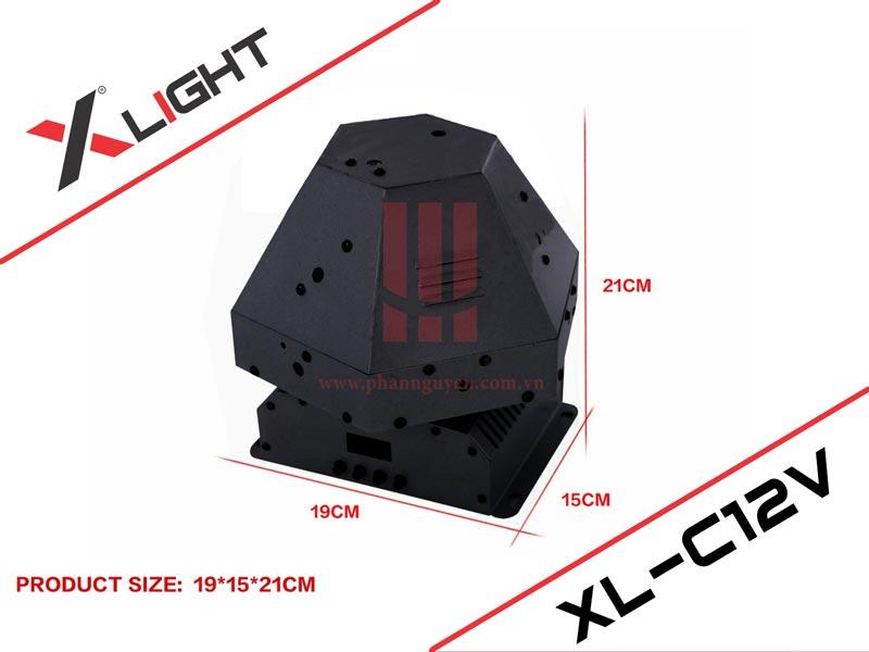 Đèn laser trung tâm lục giác XLight XL-C12V