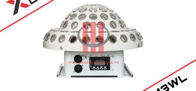 Đèn Led dĩa bay có laser XLight XL-LM3WL cho karaoke