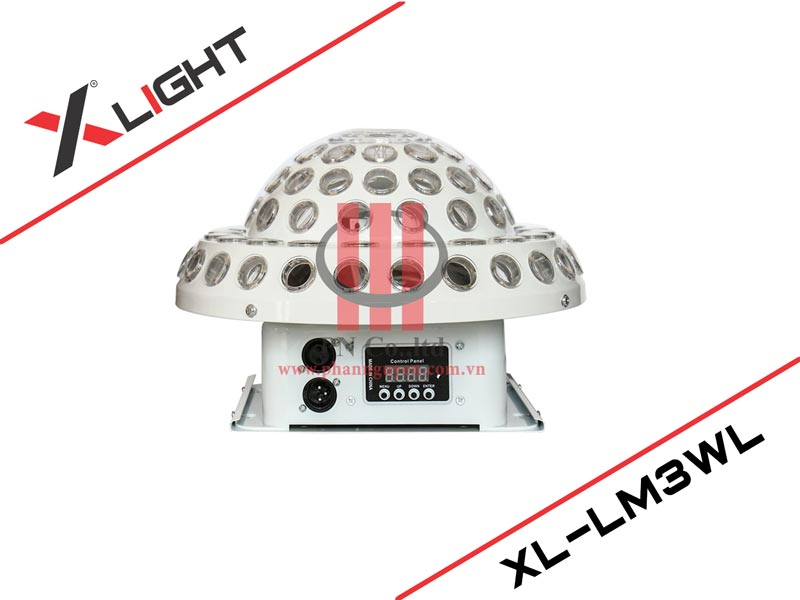 Đèn Led nấm có laser XLight XL-ML3WL