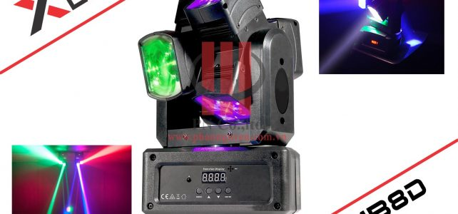Đèn Led karaoke mini Moving Beam 8 Dual XLight XL-MB8D