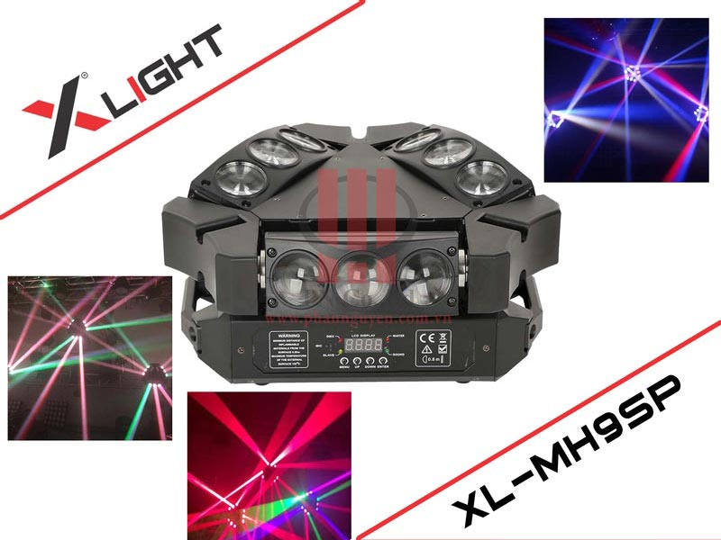 Đèn Led karaoke Moving Head 9 XLight XL-XL9SP