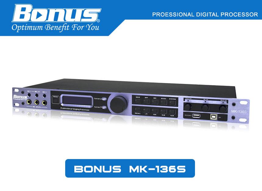 Vang số, mixer digital Karaoke Bonus Audio MK-136S
