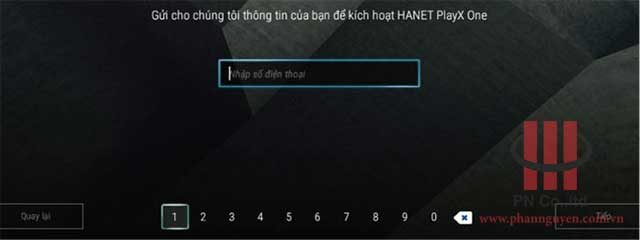 Hướng dẫn đăng ký bảo hành đầu Hanet PlayX One