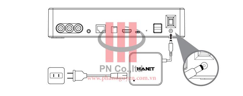 Hướng dẫn lắp đặt đầu Hanet PlayX One