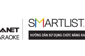Manual for using karaoke function on Hanet Smartlist